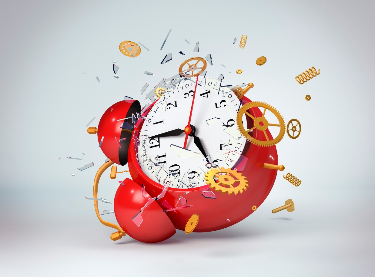 Business Operations Consulting Services in Connecticut-Red Alarm Clock Explosion