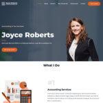 five page website